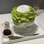 【京都スイーツ】今年もこの季節がやってきた♡ふわふわエスプーマかき氷『茶寮 和香菜』