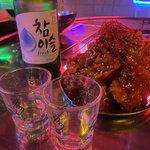 【新店】アートとネオンがフロアを彩る★ネオ韓国料理店『ROOT2食堂 二条駅前店 豚の奴隷』