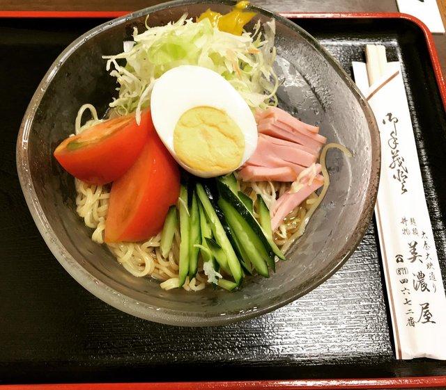 【京都ランチ】暑さ癒すさっぱり冷麺☆役者も贔屓にする映画商店街の人気店「美濃屋」