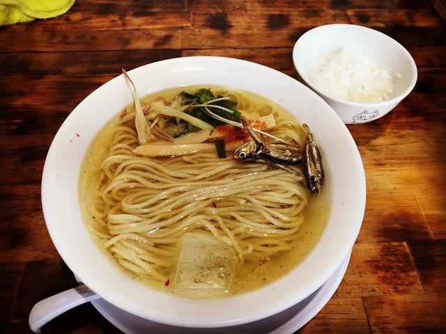【京都ラーメン】移転オープン!煮干し香る冷たい限定麵必食「煮干し中華そば加藤」
