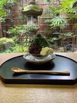 【京都カフェ】創業180年老舗旅館で日本一のコーヒーとかき氷。『井筒安の納涼~Okaffeコラボ+古本市+かき氷』