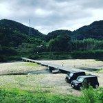 【京都珍百景】木津川に架かる欄干のない『沈下橋』☆車の通行も可能「潜没橋」