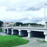 【京都ぶらり】名峰を望むロケーション☆改修で昭和初期の姿取り戻した橋「北大路橋」