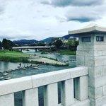 【京都ぶらり】賀茂川と高野川の合流地点☆鴨川に架かる一番長い橋「賀茂大橋」