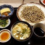 【京都ランチ】香る自家製石臼十割手打ちそば☆日本酒や肴も充実「生粉打蕎麦 玄太」