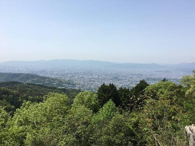 大文字山頂からの眺め