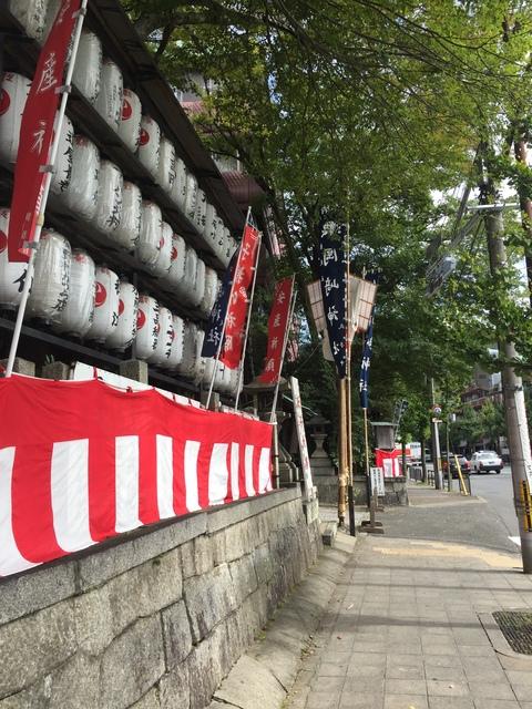岡崎神社の入り口です
