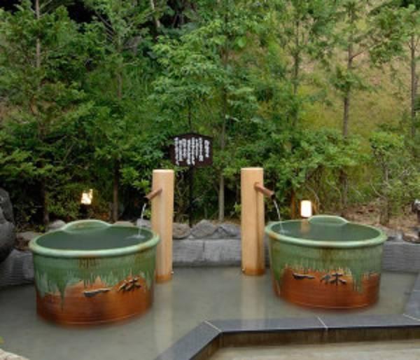 陶器風呂(信楽焼き)