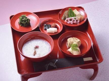 朝のプラン「桜朝粥」
