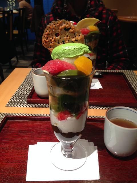 抹茶クリームパフェ ¥1143