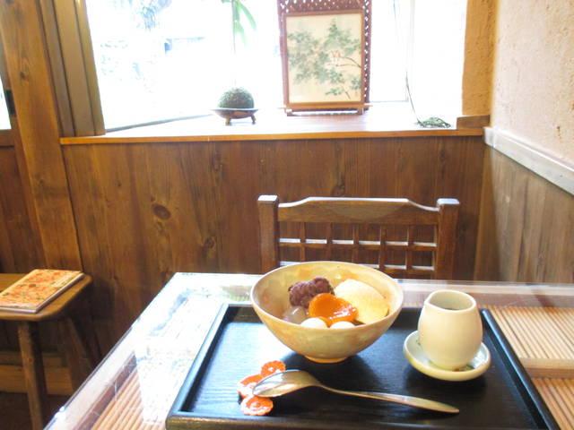 バニラクリームあをみつ ¥750
