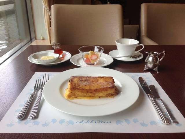 フレンチトーストセット(1728税サ込み)