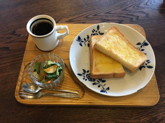 トーストモーニング(¥600税込)