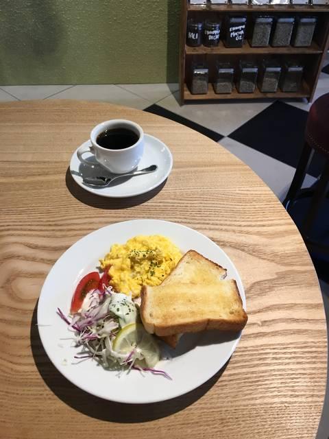 バタートーストプレート(¥550)