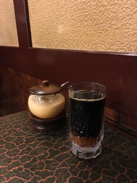 アイスコーヒー(¥300)