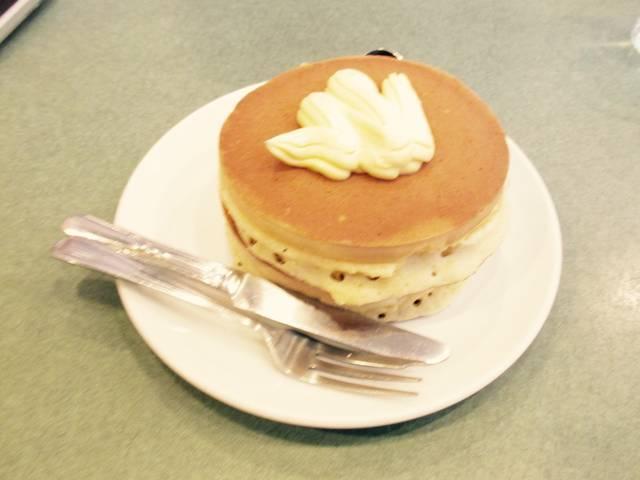 バタークリームホットケーキ