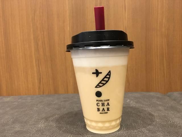 クリーム蜜烏龍茶ラテ(¥420)