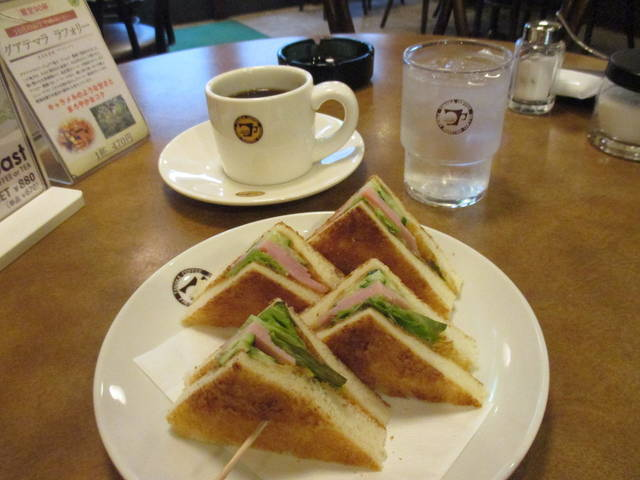 ハムトーストモーニング(¥670)
