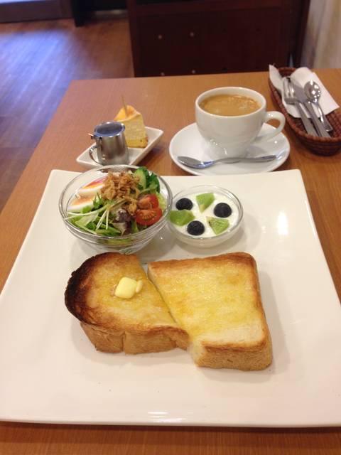 トーストセット ¥550