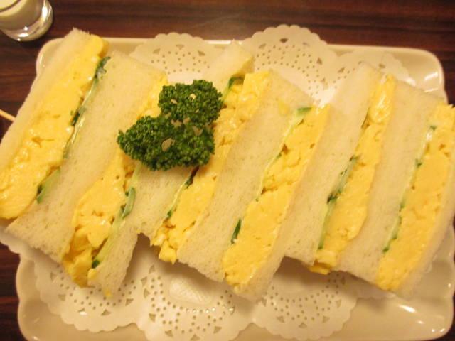 卵サンド ¥650 税込