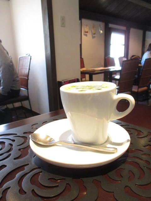 酒粕抹茶ドリンク(Hot) ¥432-