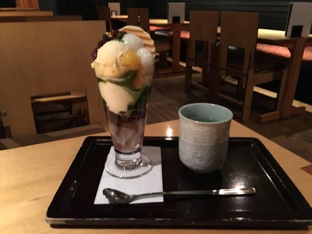 京の舞パフェ ¥982 税込