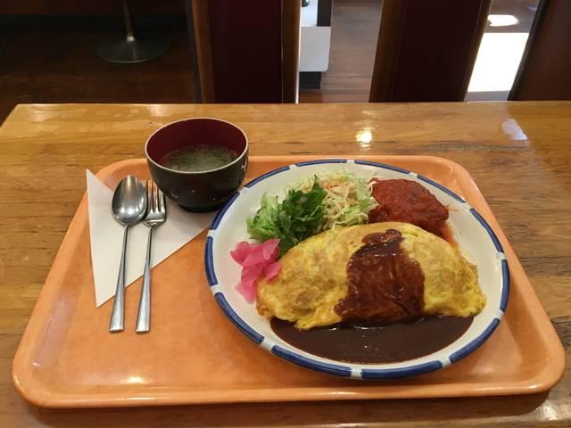 オムラハンバーグセット ¥1000 税込