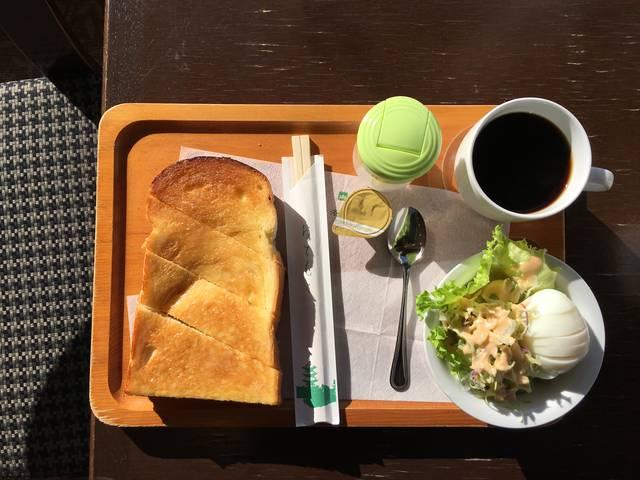 モーニングセット ¥600