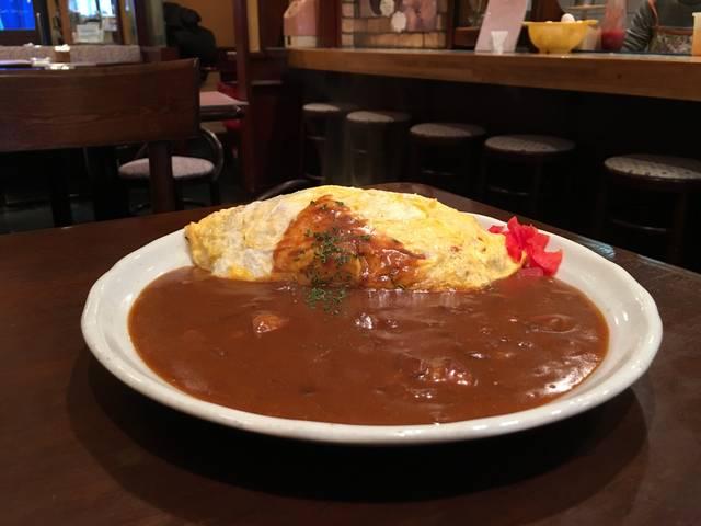 オムカレーケチャップ味 ¥870