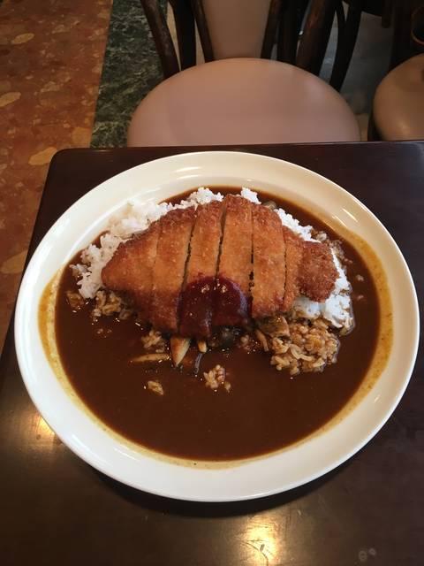ポークカツカレー ¥700