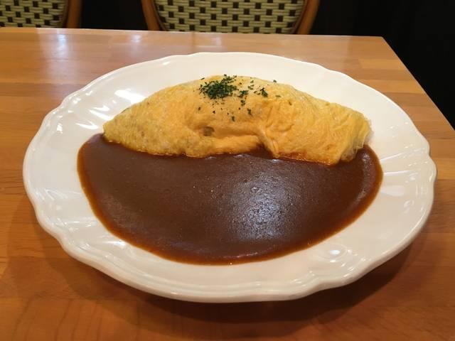 オムライスカレー ¥850