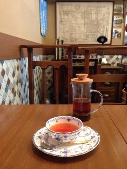 紅茶 ストレート ¥500