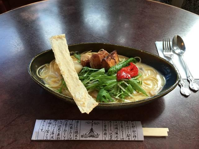 白味噌仕立ての京野菜パスタ ¥1340
