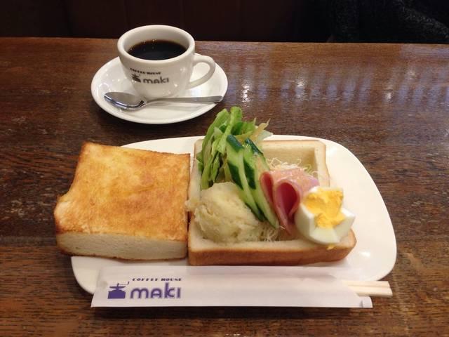 モーニングセット ¥650