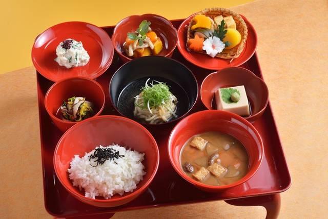 夕食:秋の精進膳