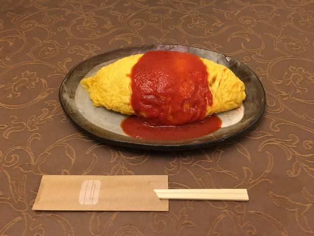 ルフオムライス(¥924税込)