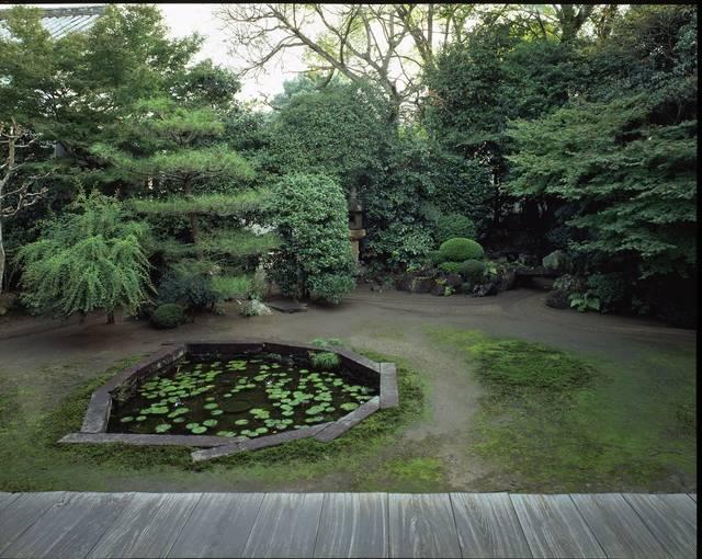 本法寺「巴の庭」