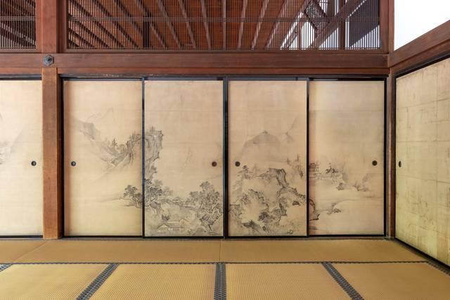 大徳寺本坊 方丈「狩野探幽筆障壁画」