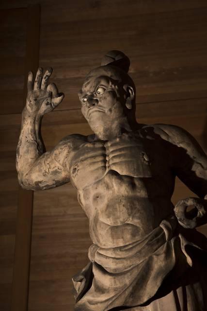 東福寺光明宝殿 金剛力士像(吽形)