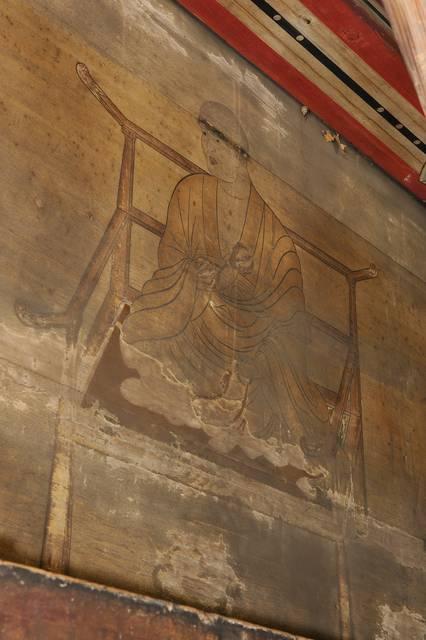 東寺五重塔 壁面画