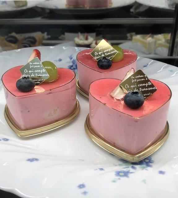 イチゴのケーキ ¥390