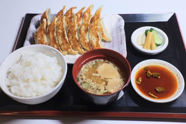 ぎょうざ定食A 780円