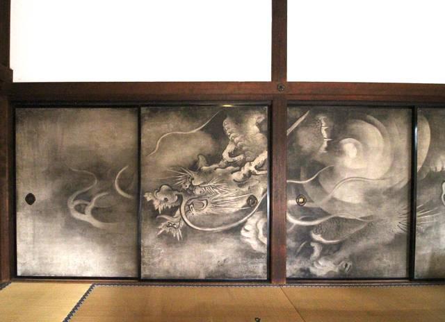 雲龍図 襖絵2