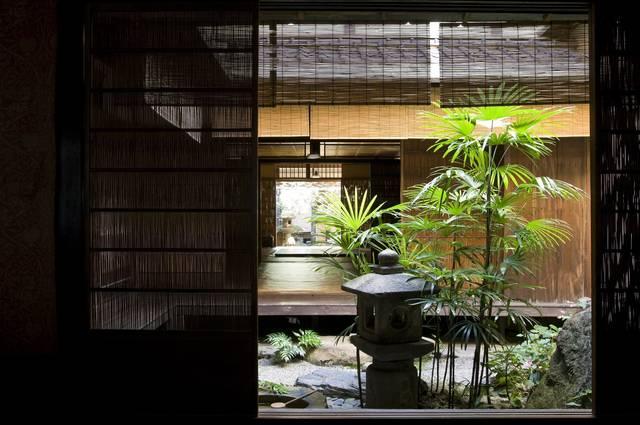 吉田家住宅(無名舎) 中庭