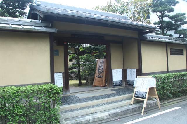 旧邸御室の入口