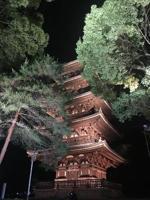 撮影ポイント②五重塔