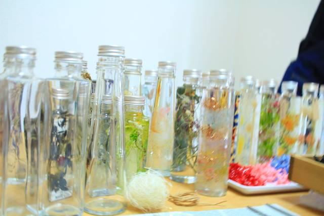選べるガラス瓶