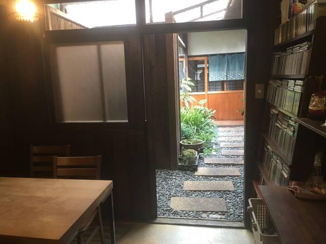 京町屋の通り庭