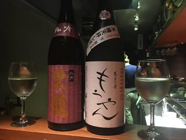 まずは日本酒