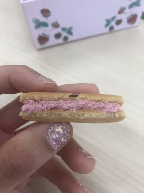 東京限定の苺ラズベリー
